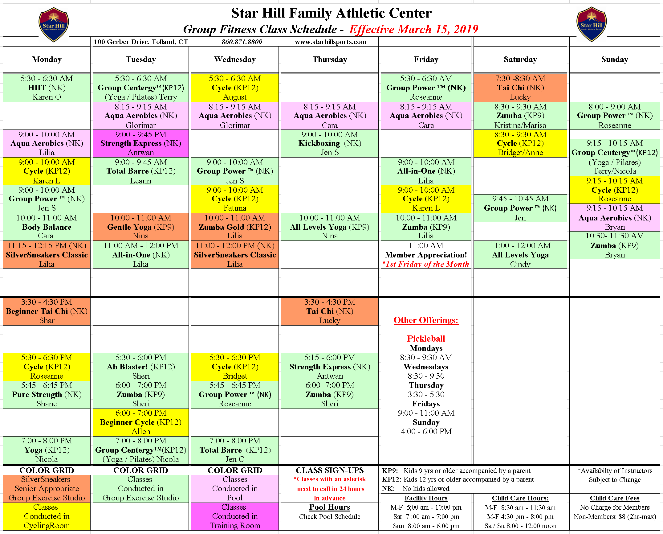 fit sched 3-15-19