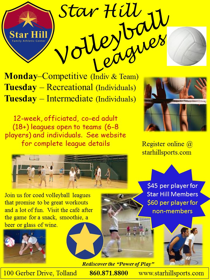 Volleyball Leagues - June 2017
